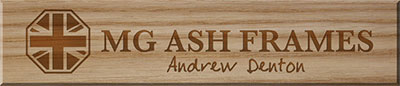 Andrew Denton | MG Ash Frames | Yorkshire, UK