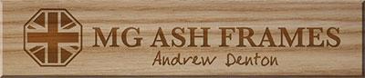 Andrew Denton | MG Ash Frames | Yorkshire, UK